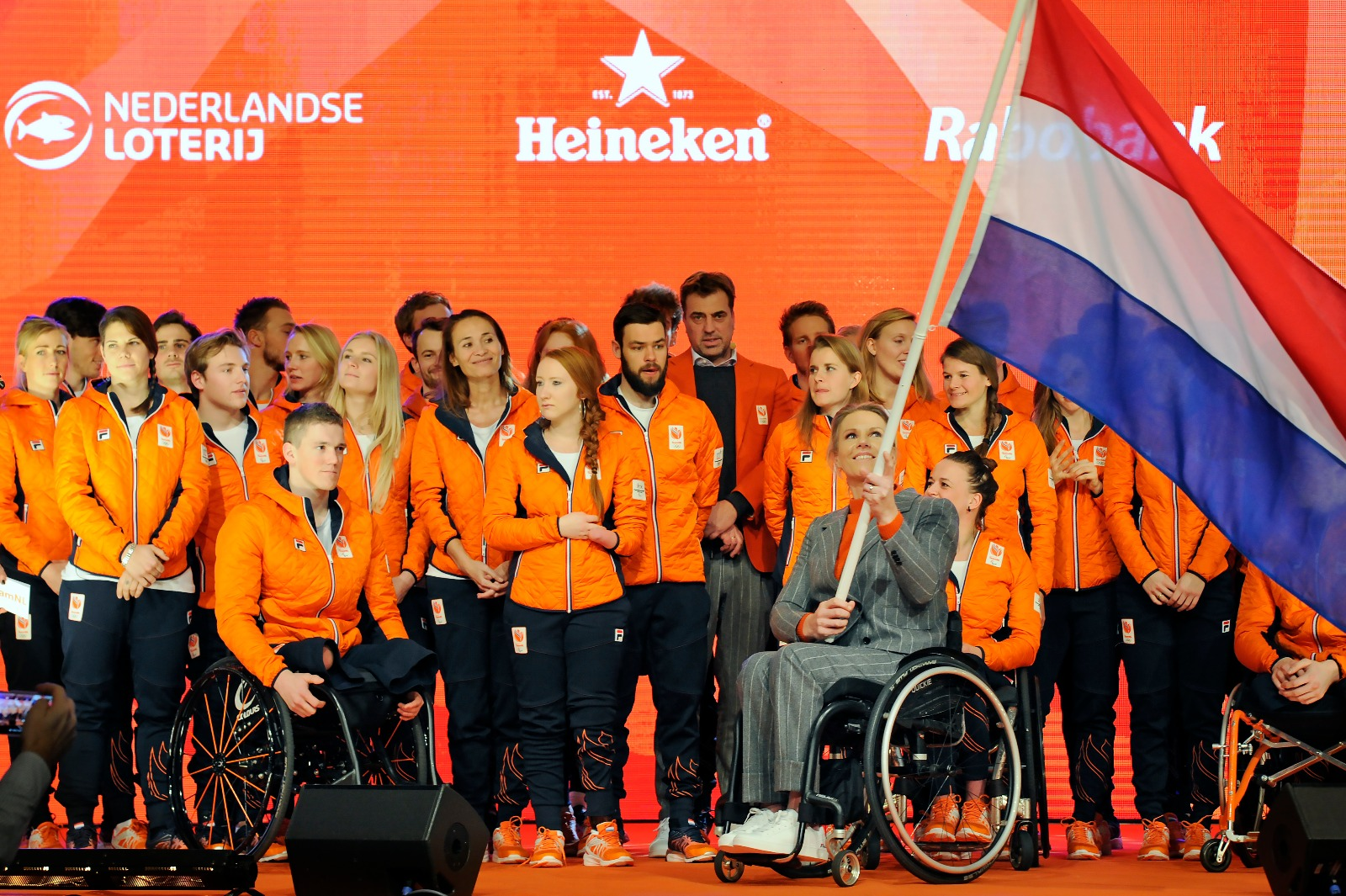 Esther Vergeer Chef de Mission Paralympic Team NL